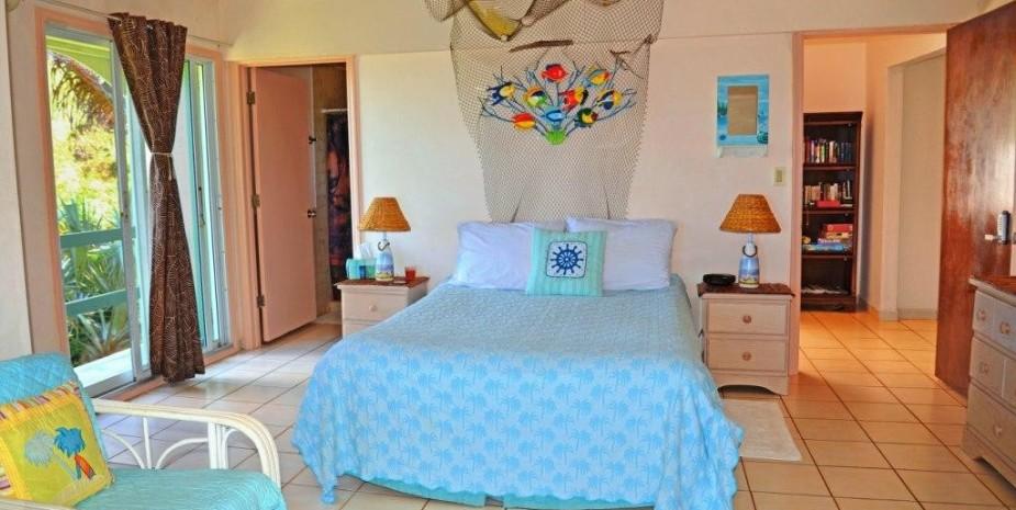 Studio bedroom seaview