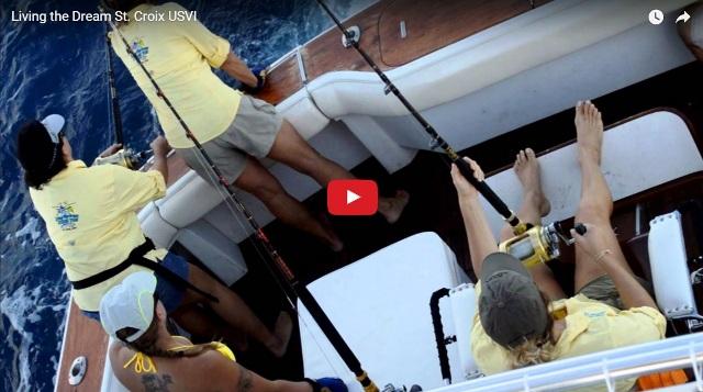 deep sea fishing charter boats St Croix US Virgin Islands