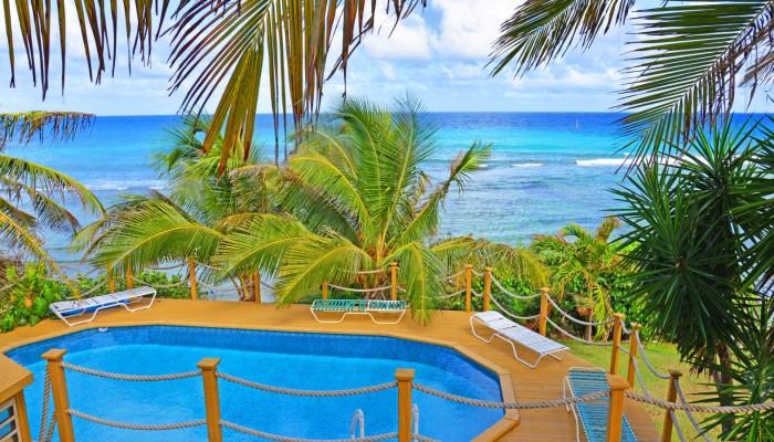 st croix condos beach sea view studio