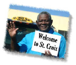 St Croix airport taxi in USVI
