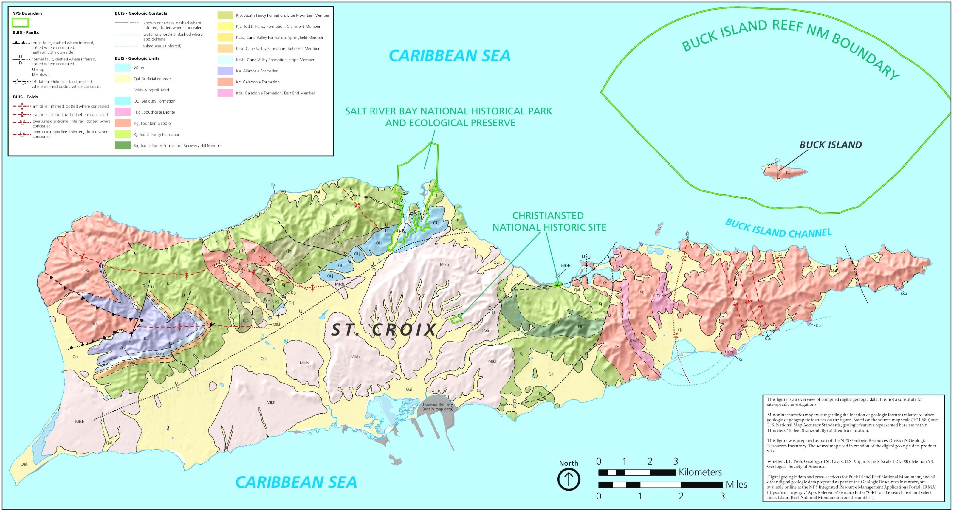 map of st croix geology