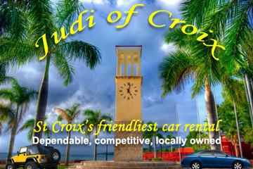 St Croix Airport Rental Car USVI US Virgin Islands Judi of Croix