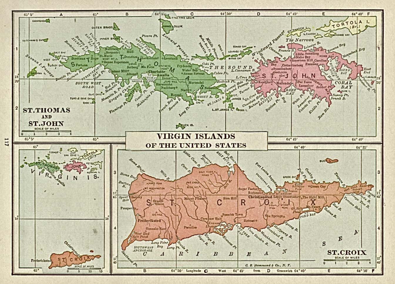 map virgin islands