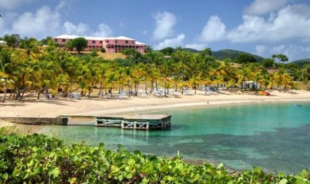 St Croix Buccaneer Hotel beach resort US Virgin Islands USVI