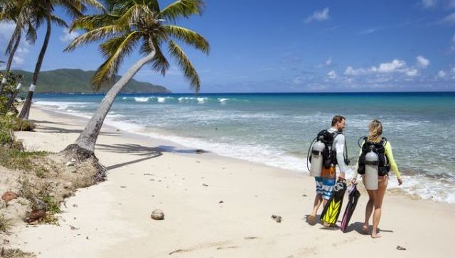St Croix Cane Bay beach scuba diving and snorkeling US Virgin Islands USVI