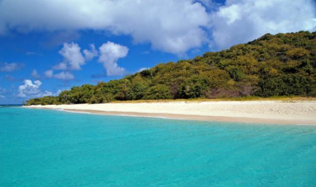 St Croix Turtle Beach Buck Island US Virgin Islands USVI