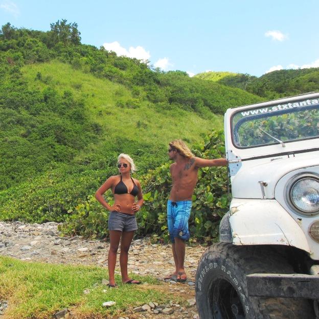 St Croix rental cars US Virgin Islands jeep
