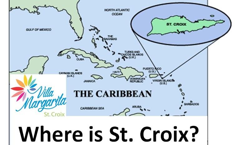 St Croix Map Us Virgin Islands Map Where Is St Croix - Us-caribbean-islands-map