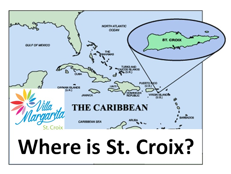 St Croix Map, US Virgin Islands Map | Where is St Croix?