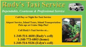 rudys taxi st croix