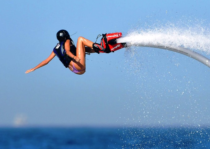 flyboarding St Croix US Virgin Islands