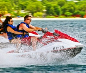 jet ski rental in St Croix