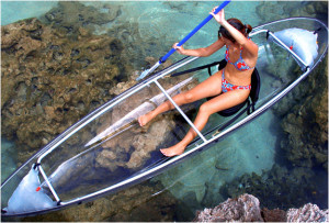 SEE THRU KAYAK