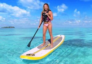St Croix stand up paddleboading