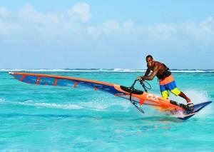 wind surfing in St Croix USVI