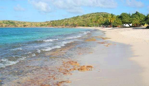 Cramer's Park Beach in St Croix US Virgin Islands USVI