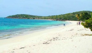 Cramers Park Beach in St Croix US Virgin Islands USVI