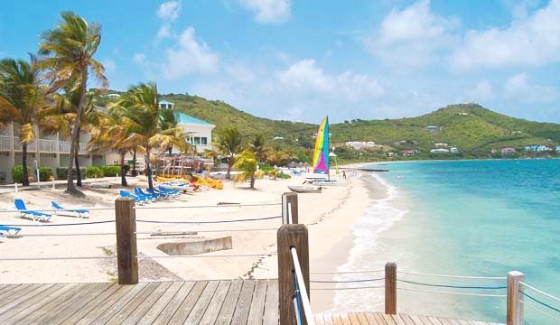 Divi beach St Croix US Virgin Islands Divi Carina Bar Resort USVI