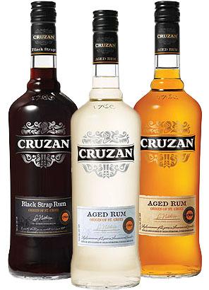 Cruzan Rum St Croix duty free