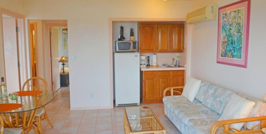 2 bedroom suite kitchenette