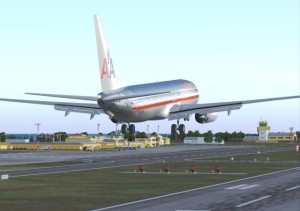 AA flights to St Croix airport