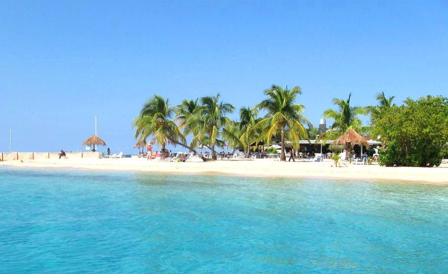 St Croix Hotel on the Cay beach US Virgin Islands USVI