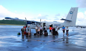Seaborne Airlines at St Croix Airport