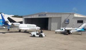 St Croix airport cargo terminal