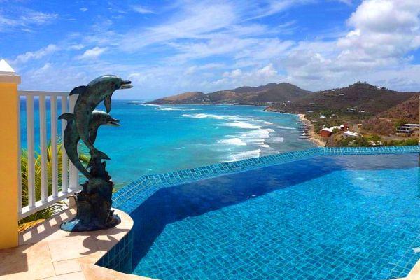 st croix real estate ocean view pool
