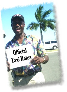 Taxi tariffs in Virgin Islands