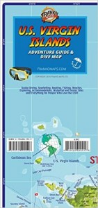 USVI Diving Guide and Map