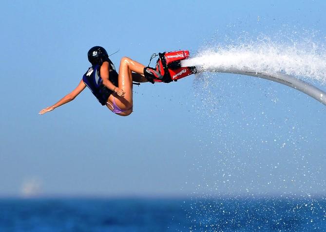 flyboarding St Croix US Virgin Islands