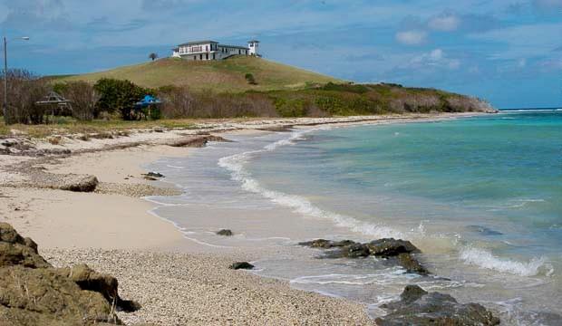 Columbus landing beach St Croix US Virgin Islands USVI