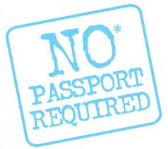 No passport travel in the Caribbean